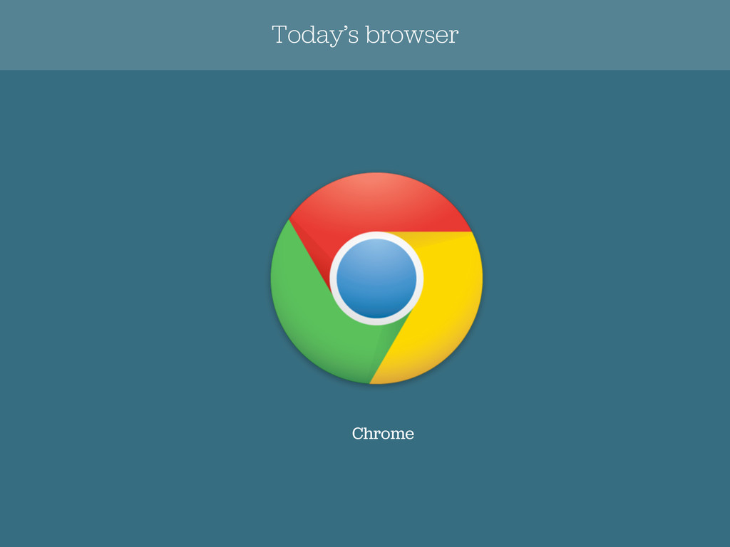 Chrome Today's browser