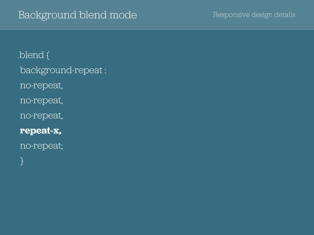 .blend { background-repeat : no-repeat, no-repe...