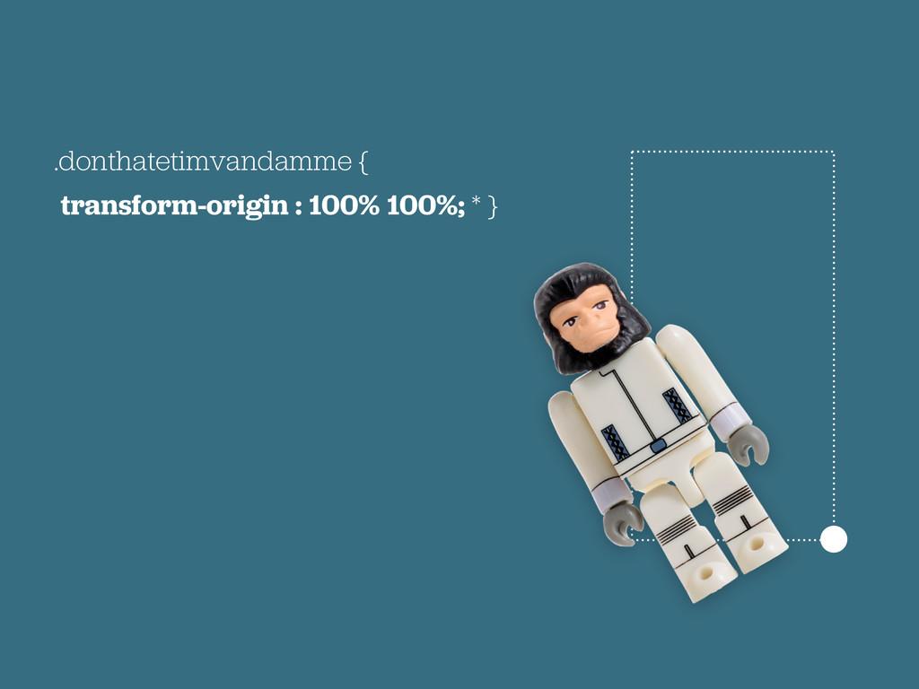 .donthatetimvandamme { transform-origin : 100% ...