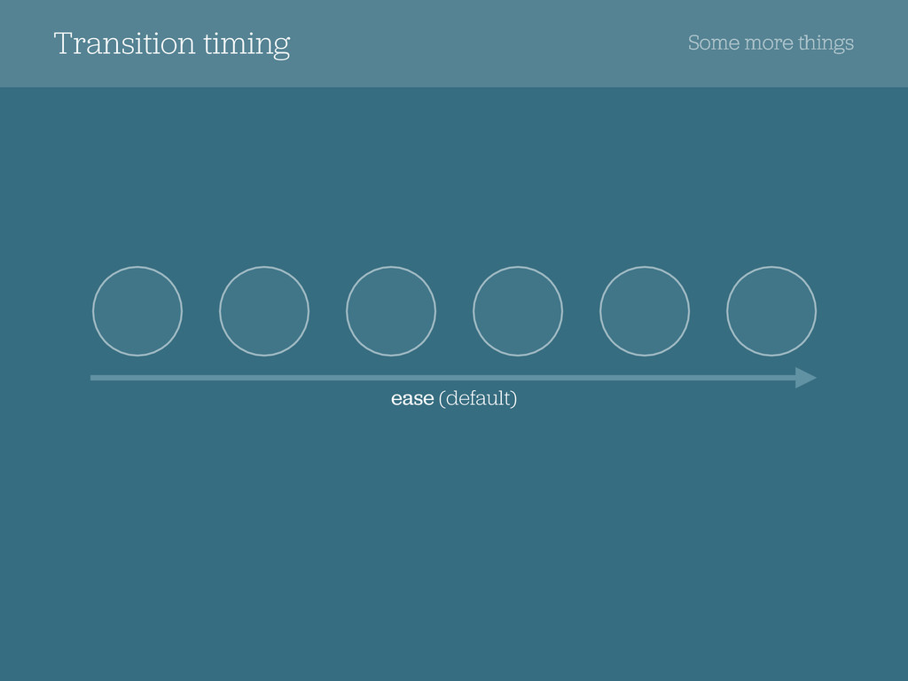 Transition timing Some more things ease (defaul...