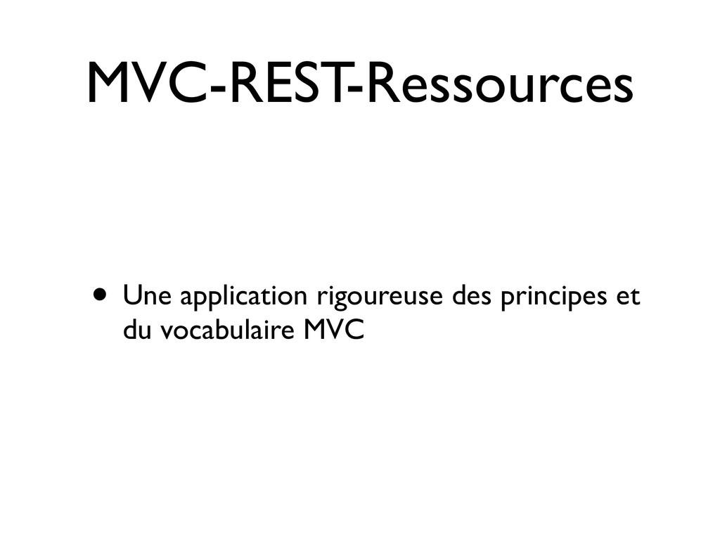MVC-REST-Ressources • Une application rigoureus...