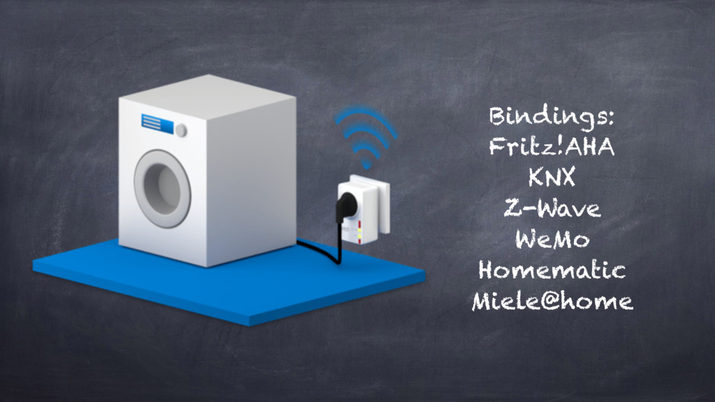 Bindings: Fritz!AHA KNX Z-Wave WeMo Homematic M...