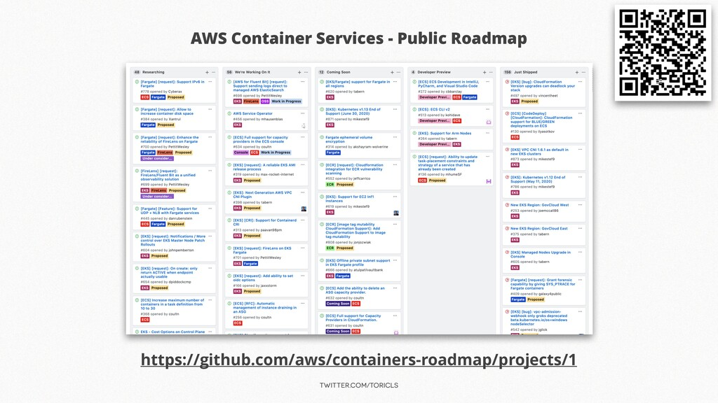 twitter.com/toricls AWS Container Services - Pu...