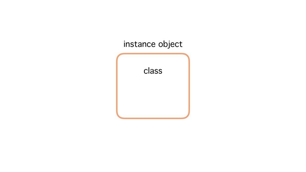 instance object class