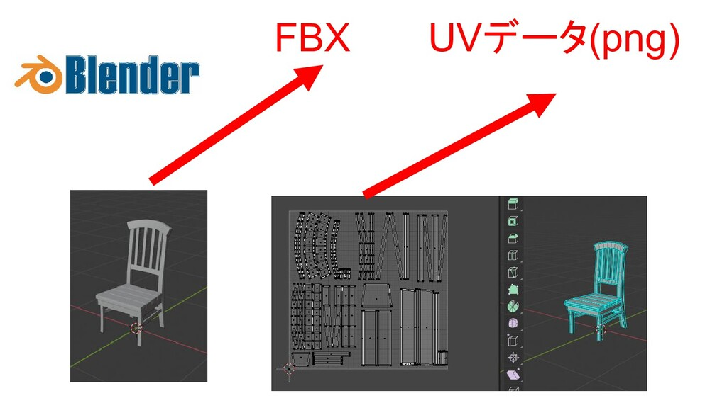 FBX UVデータ(png)