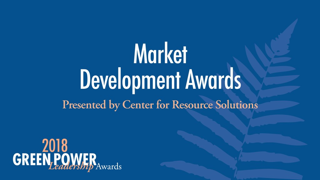 Presented by Center for Resource Solutions Mark...