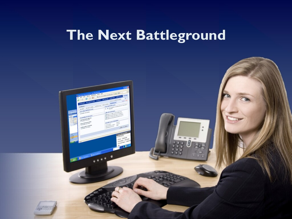 The Next Battleground