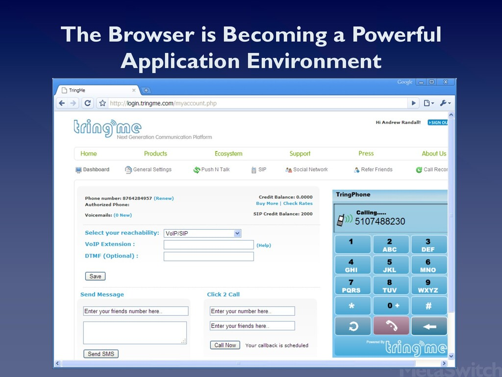 The Browser is Becoming a Powerful Application ...