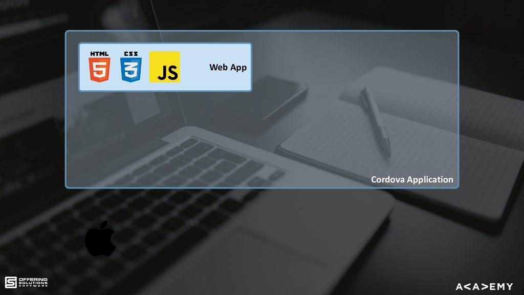 Cordova Application Web App