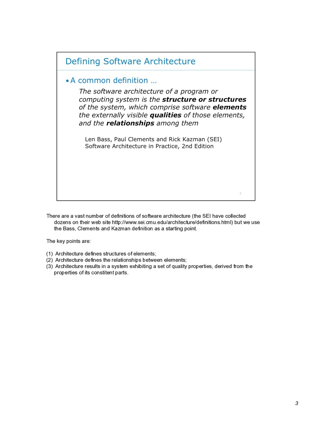 3 There are a vast number of definitions of sof...