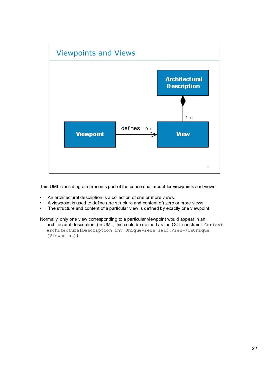 24 This UML class diagram presents part of the ...