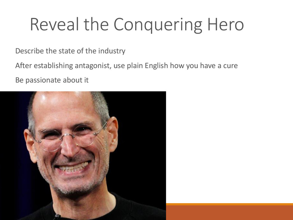 Reveal the Conquering Hero Describe the state o...