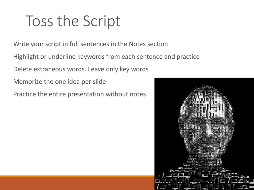 Toss the Script Write your script in full sente...