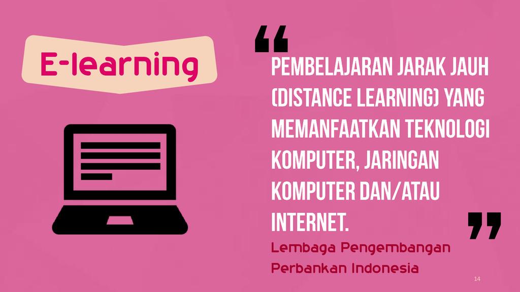 E-learning 14 Lembaga Pengembangan Perbankan In...