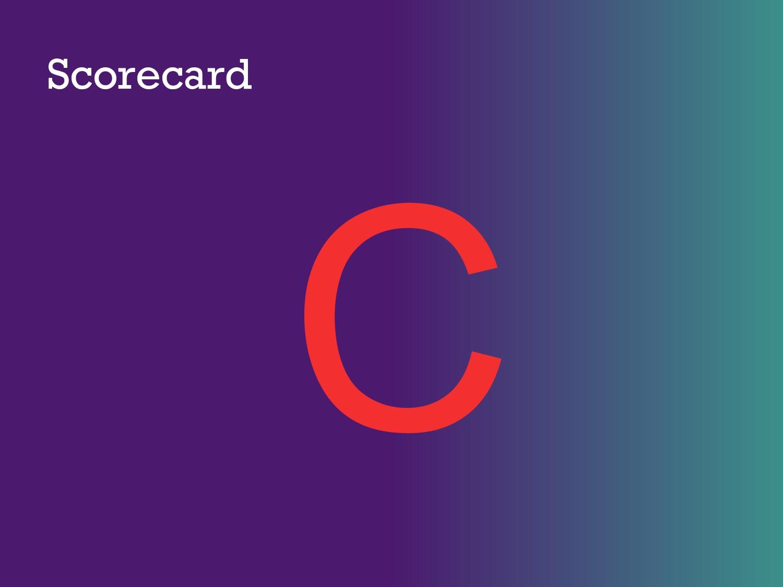 Scorecard C