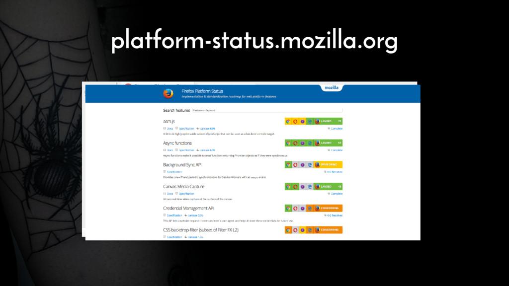 platform-status.mozilla.org