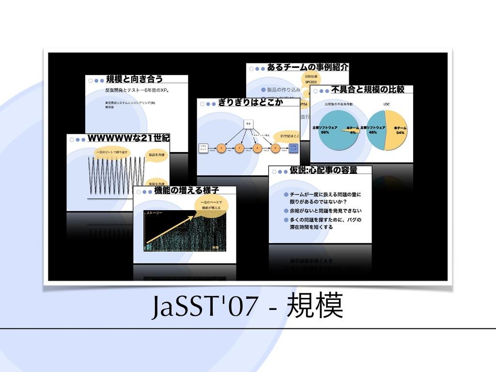 JaSST'07 - ن JaSST'07