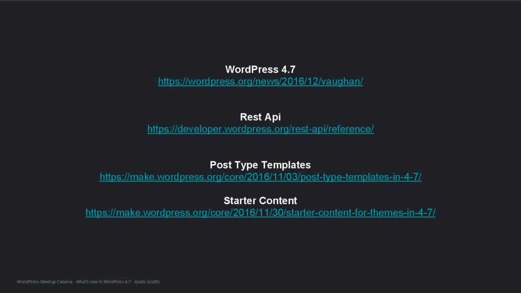 WordPress Meetup Catania - What's new in WordPr...
