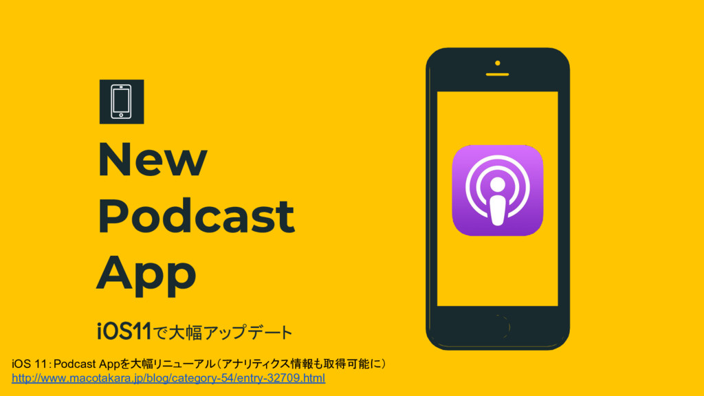 iOS11で大幅アップデート New Podcast App iOS 11:Podcast A...