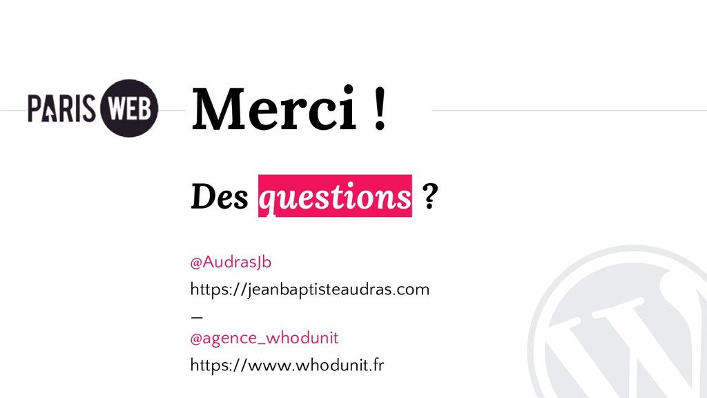 Des questions ? @AudrasJb https://jeanbaptistea...