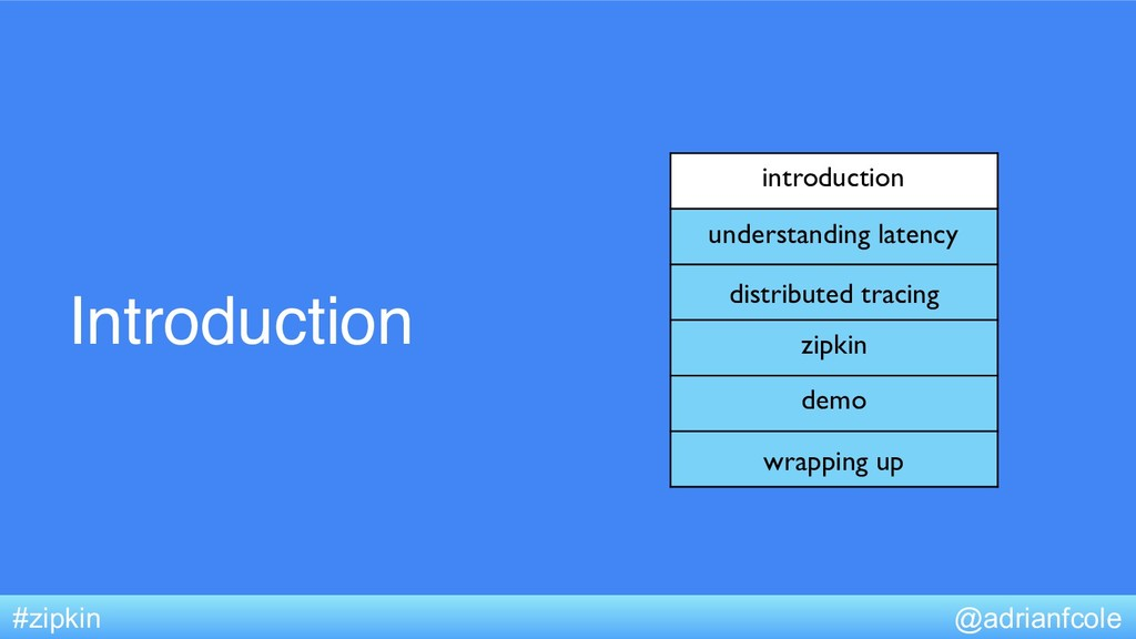 Introduction introduction understanding latency...