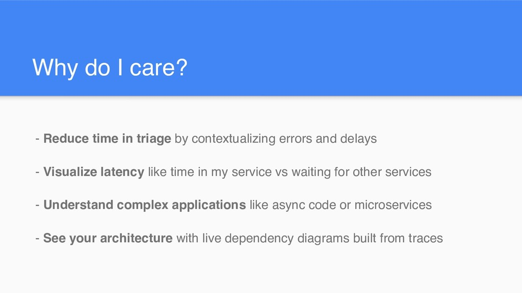 Why do I care? - Reduce time in triage by conte...