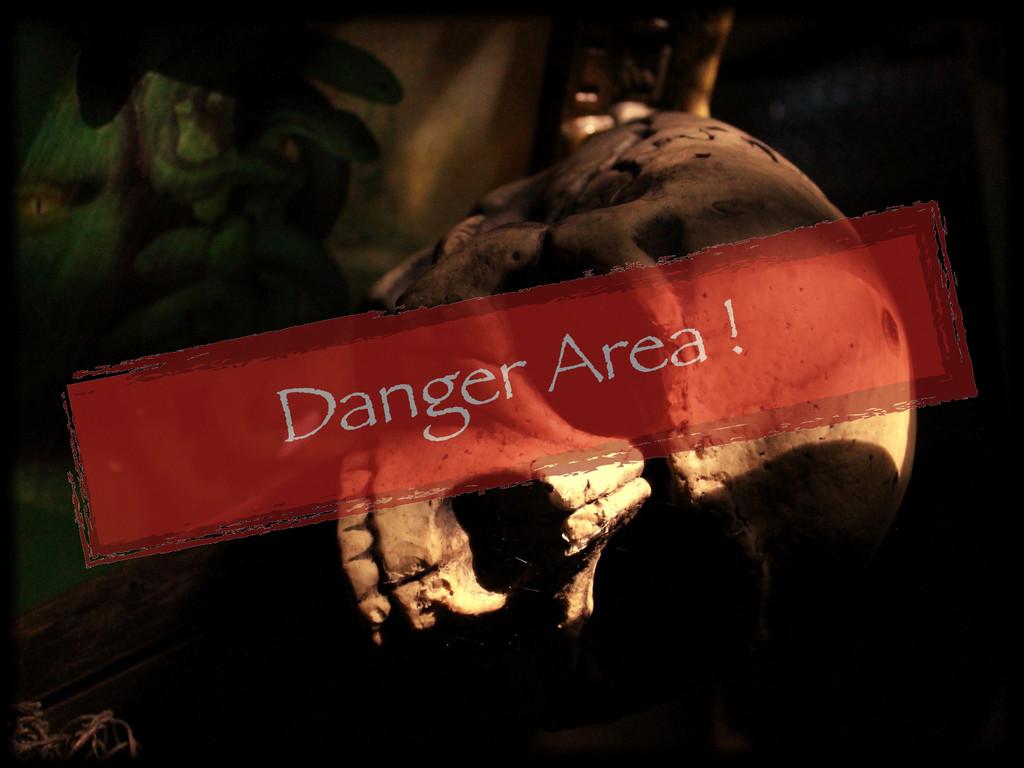 Danger Area !