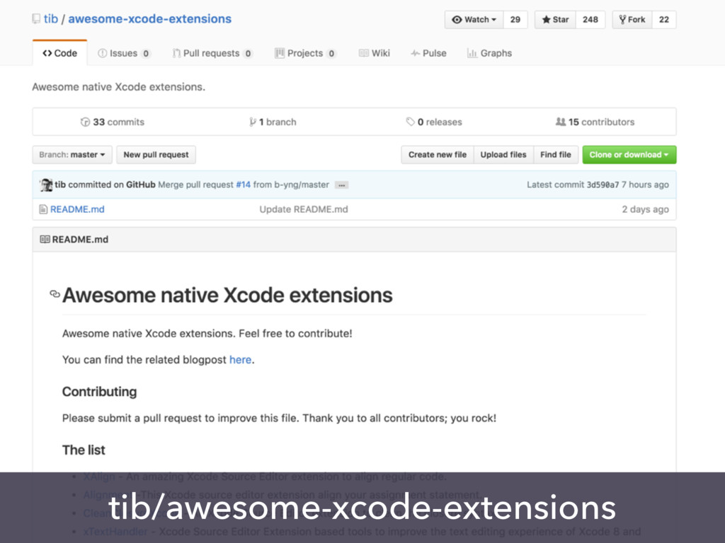 tib/awesome-xcode-extensions