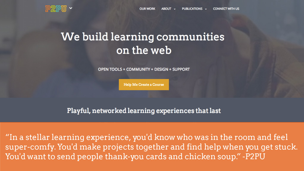 """! """"In a stellar learning experience, you'd know..."""