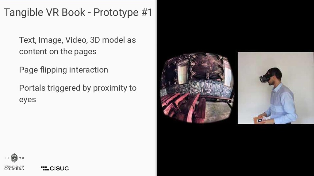 Tangible VR Book - Prototype #1 Text, Image, Vi...