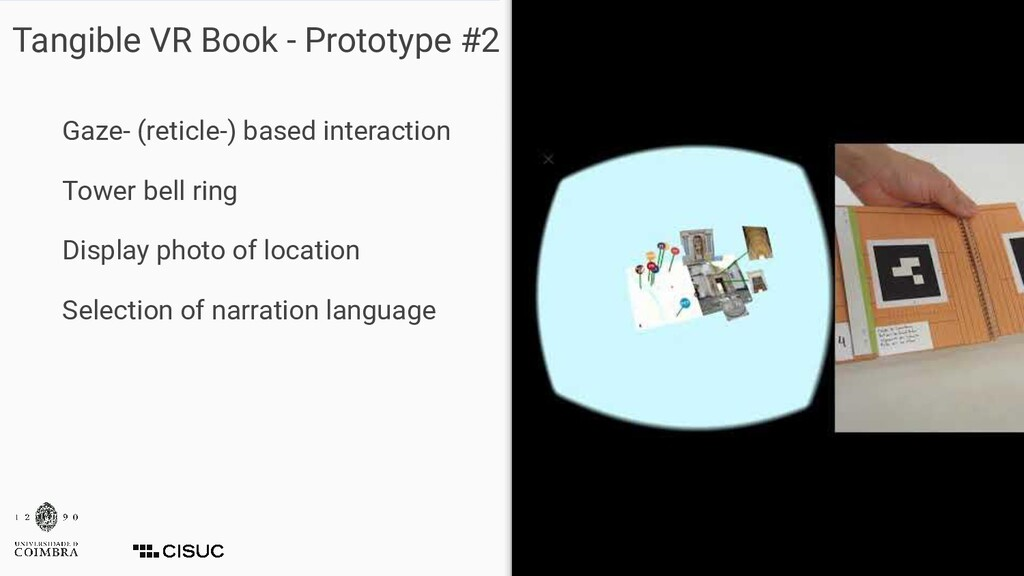 Tangible VR Book - Prototype #2 Gaze- (reticle-...