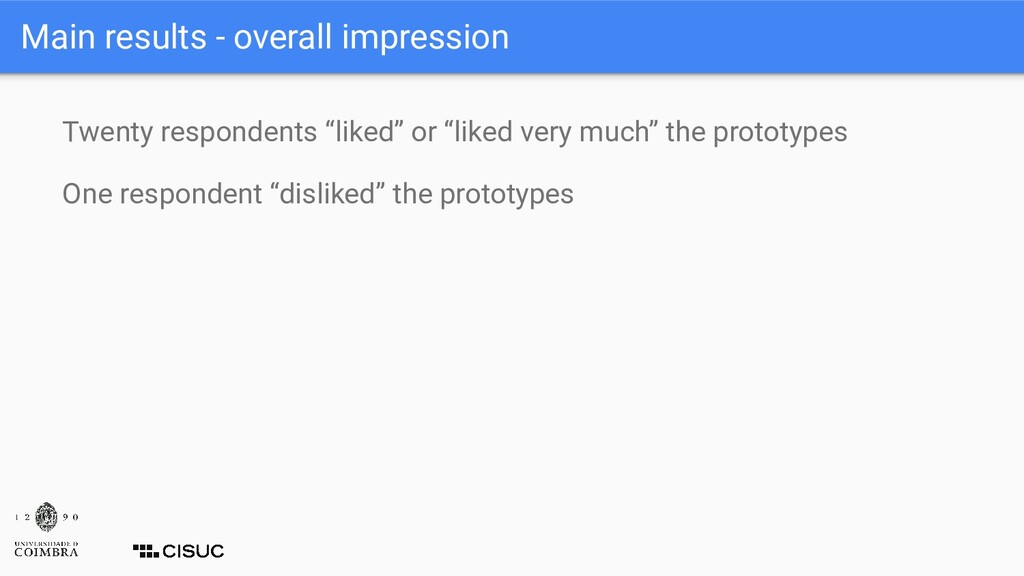 """Twenty respondents """"liked"""" or """"liked very much""""..."""