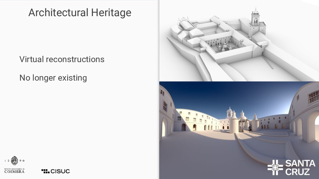 Architectural Heritage Virtual reconstructions ...