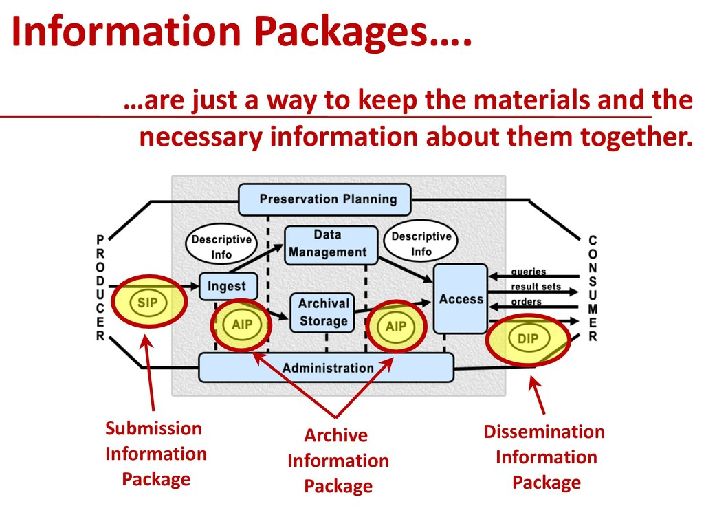 Submission Information Package Archive Informat...