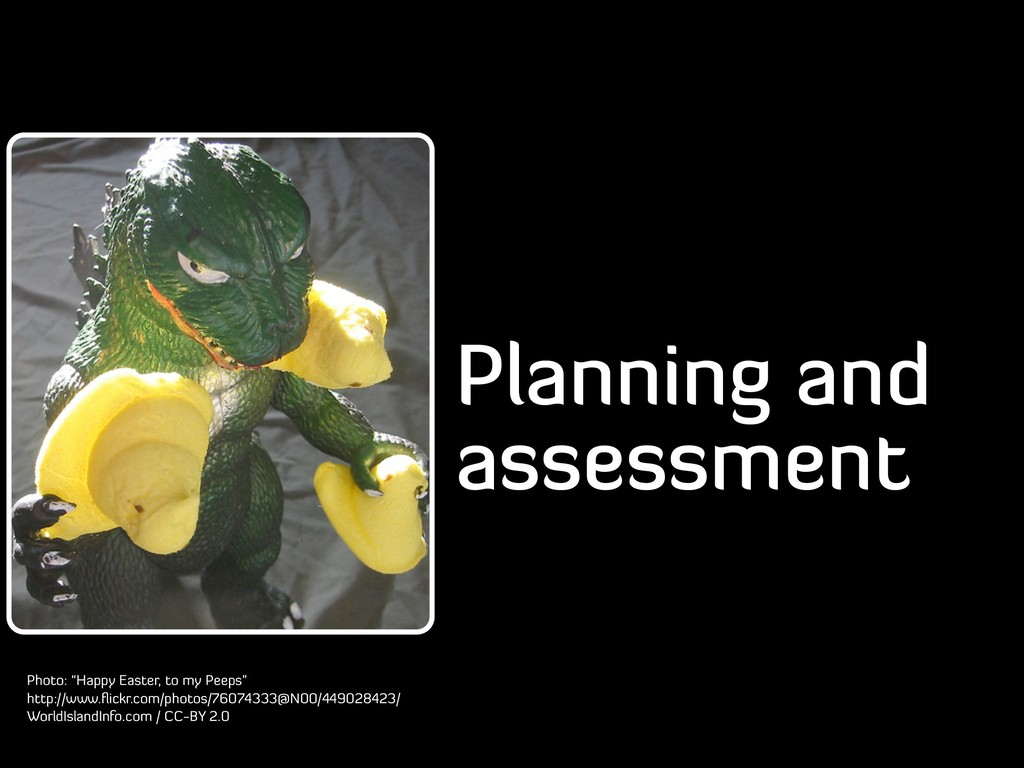 """Planning and assessment Photo: """"Happy Easter, t..."""