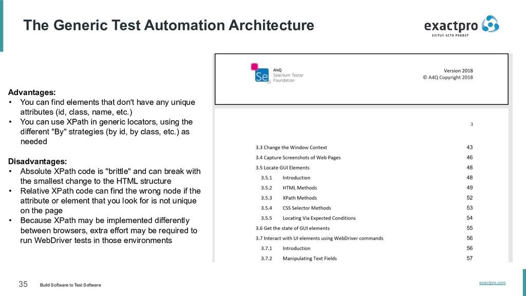 35 Build Software to Test Software exactpro.com...