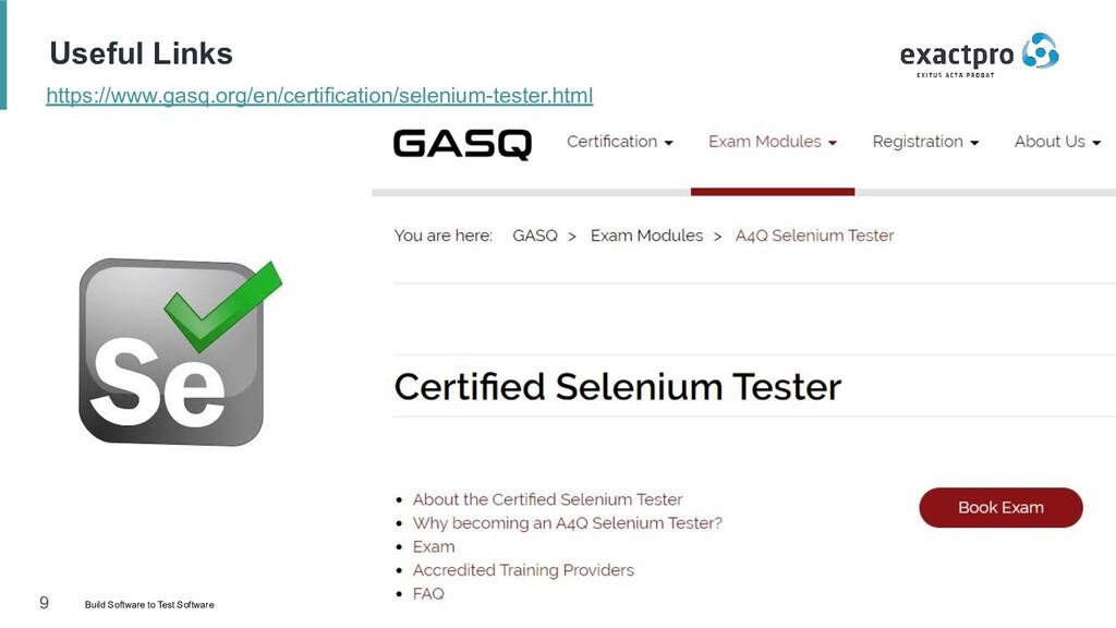 9 Build Software to Test Software exactpro.com ...