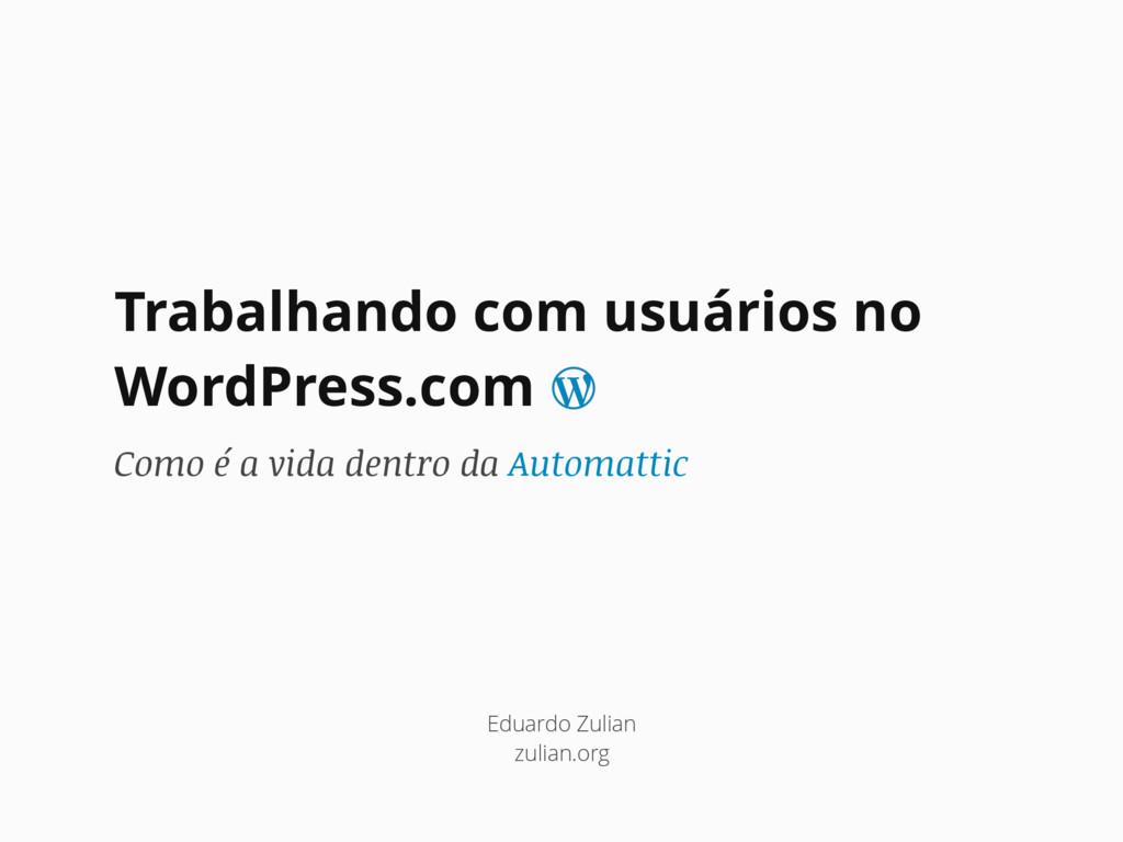 Trabalhando com usuários no WordPress.com Como ...