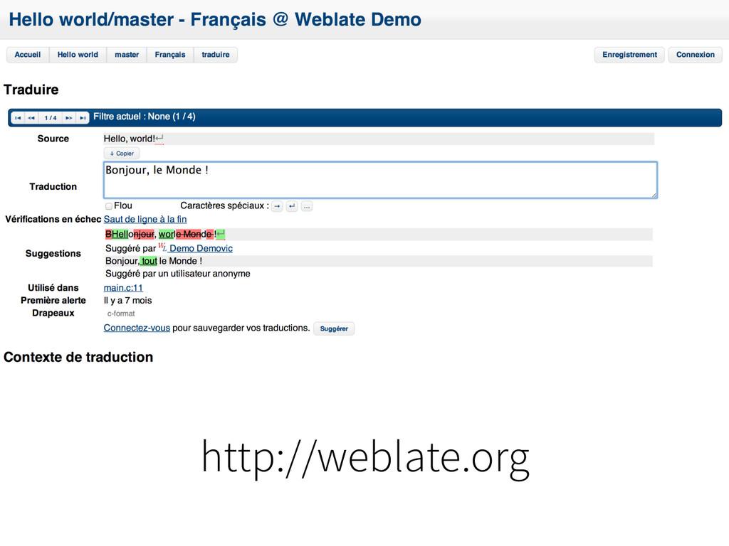 http://weblate.org