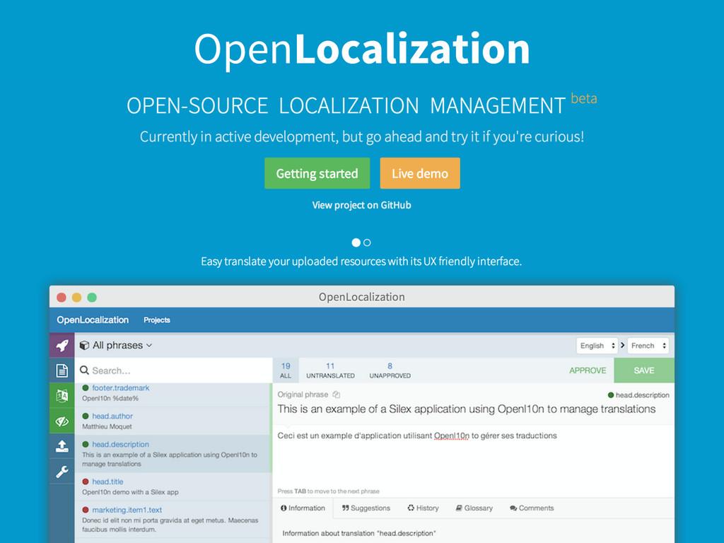 OpenLocalization