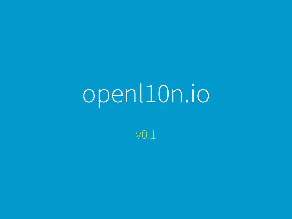 openl10n.io v0.1