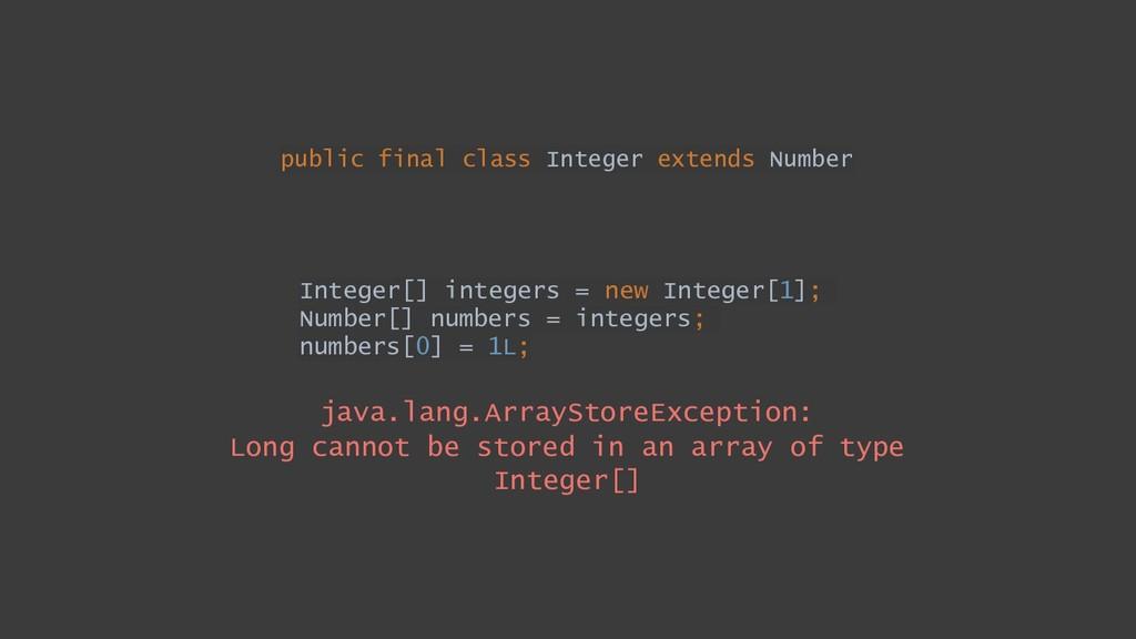public final class Integer extends Number Integ...