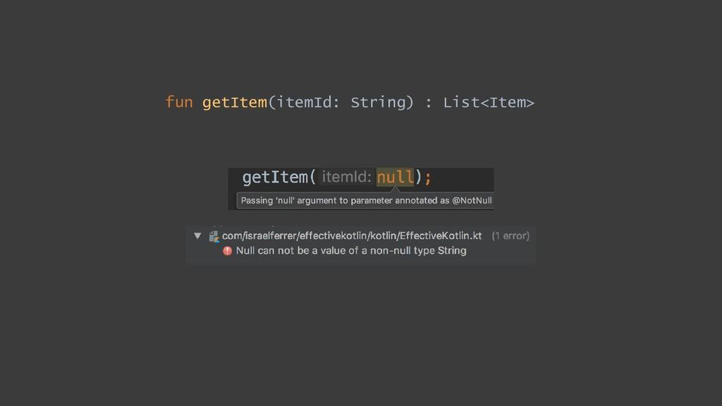 fun getItem(itemId: String) : List<Item>