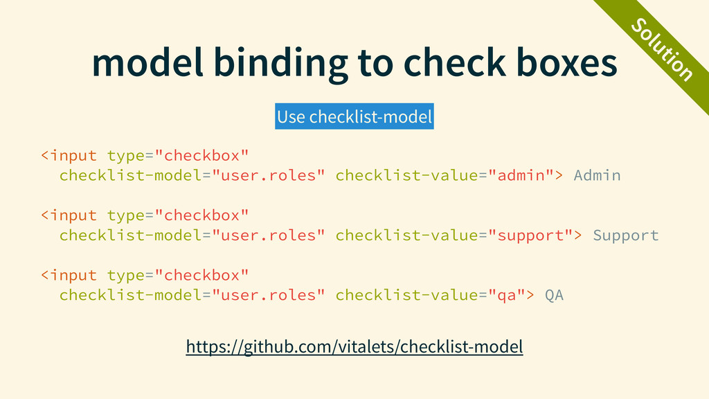 """model binding to check boxes <input type=""""check..."""