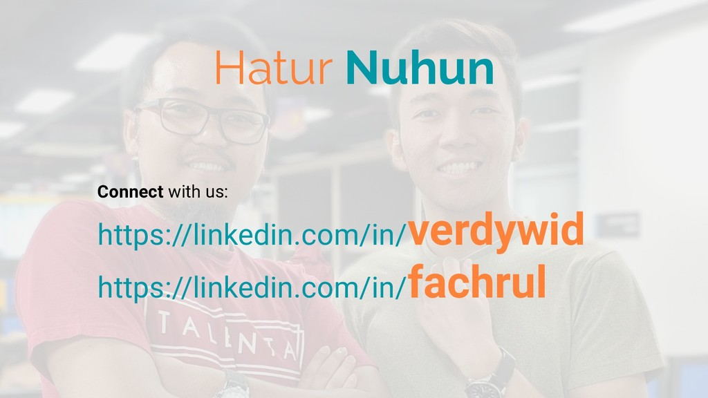 Hatur Nuhun Connect with us: https://linkedin.c...