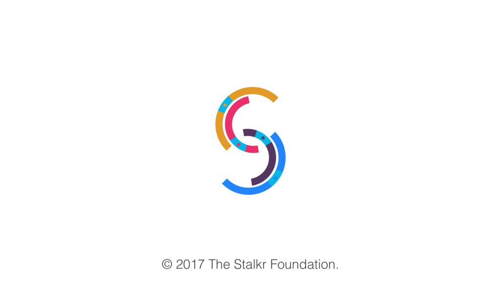 © 2017 The Stalkr Foundation.