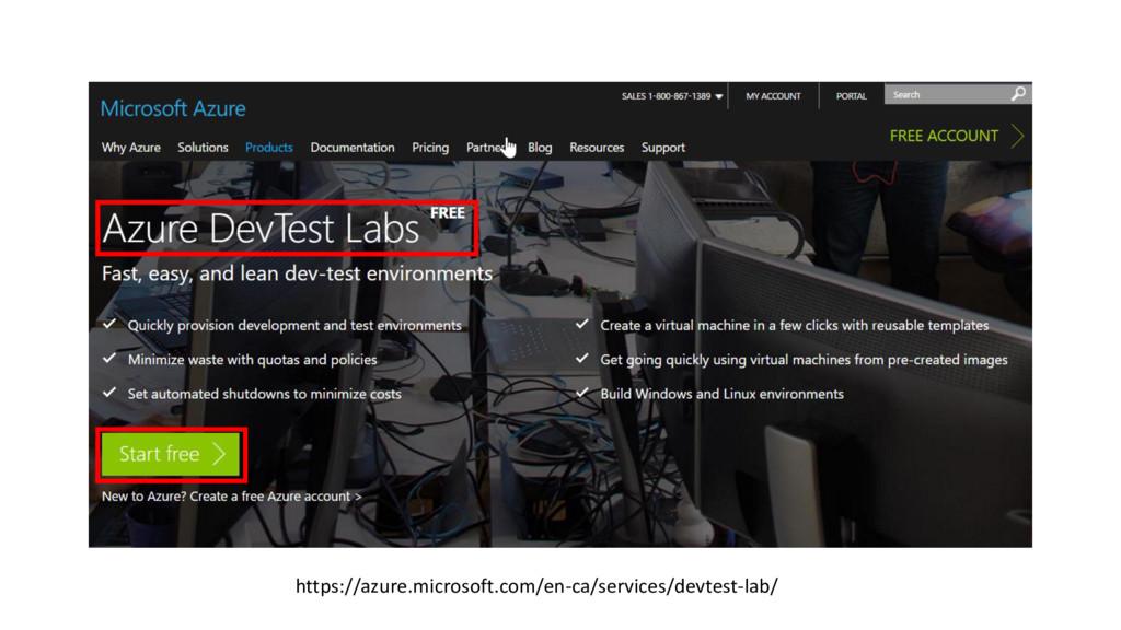 https://azure.microsoft.com/en-ca/services/devt...