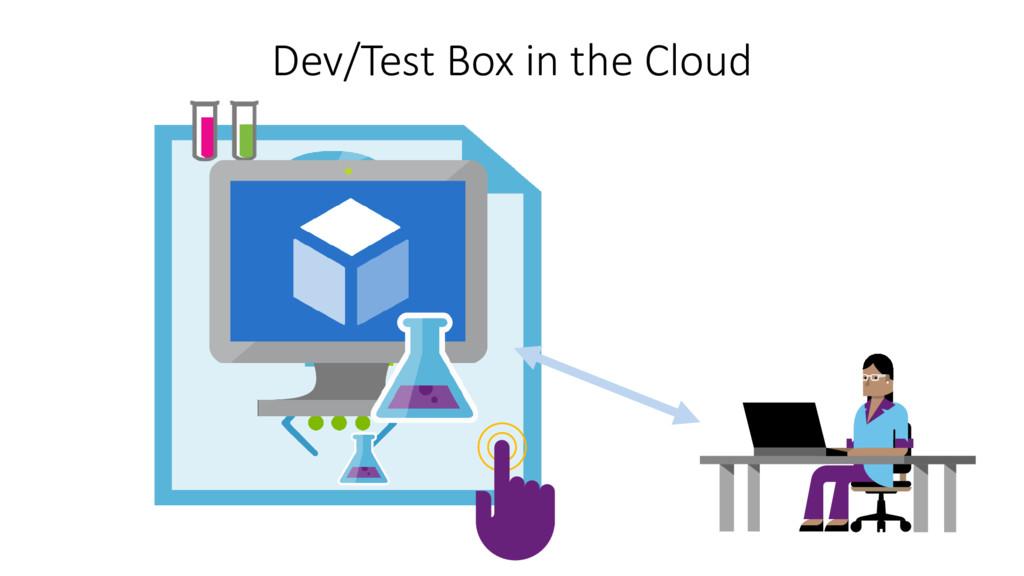 Dev/Test Box in the Cloud