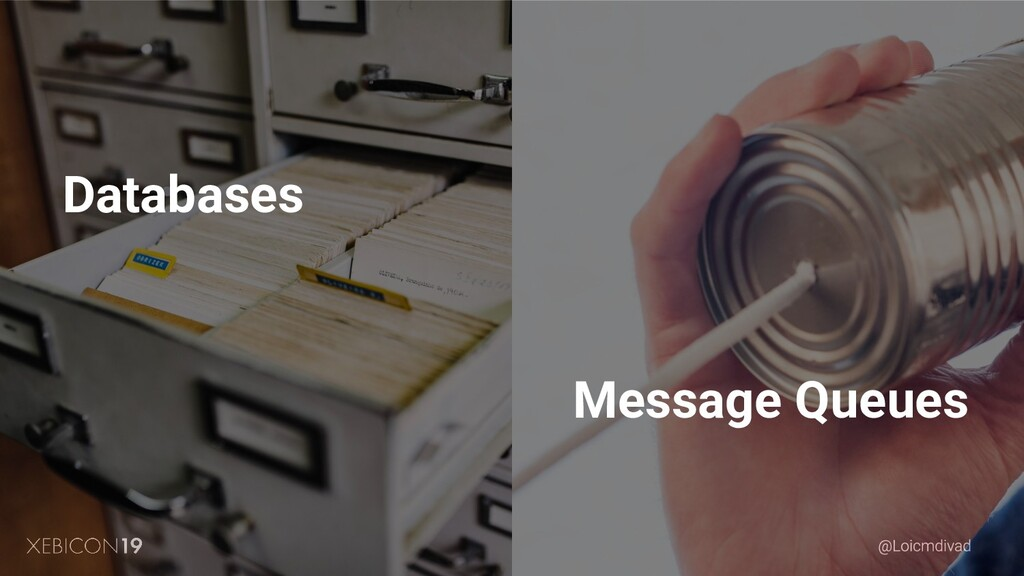 Databases Message Queues