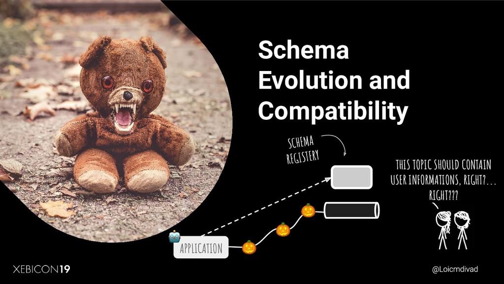Schema Evolution and Compatibility SCHEMA REGIS...
